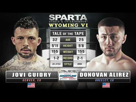 SSE WY6 Jovi Guidry v Donovan Alirez