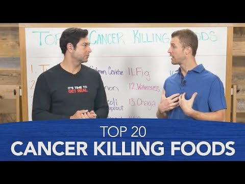 Top 20 Cancer Killings Foods