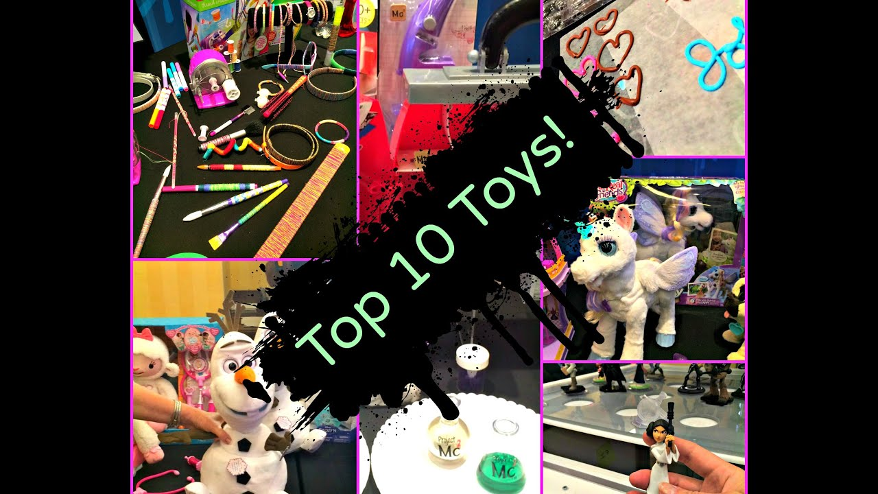 Top Ten Toys for Girls age 4 10