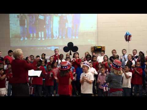 Salem Church Elementary School Veteran's Day Concert