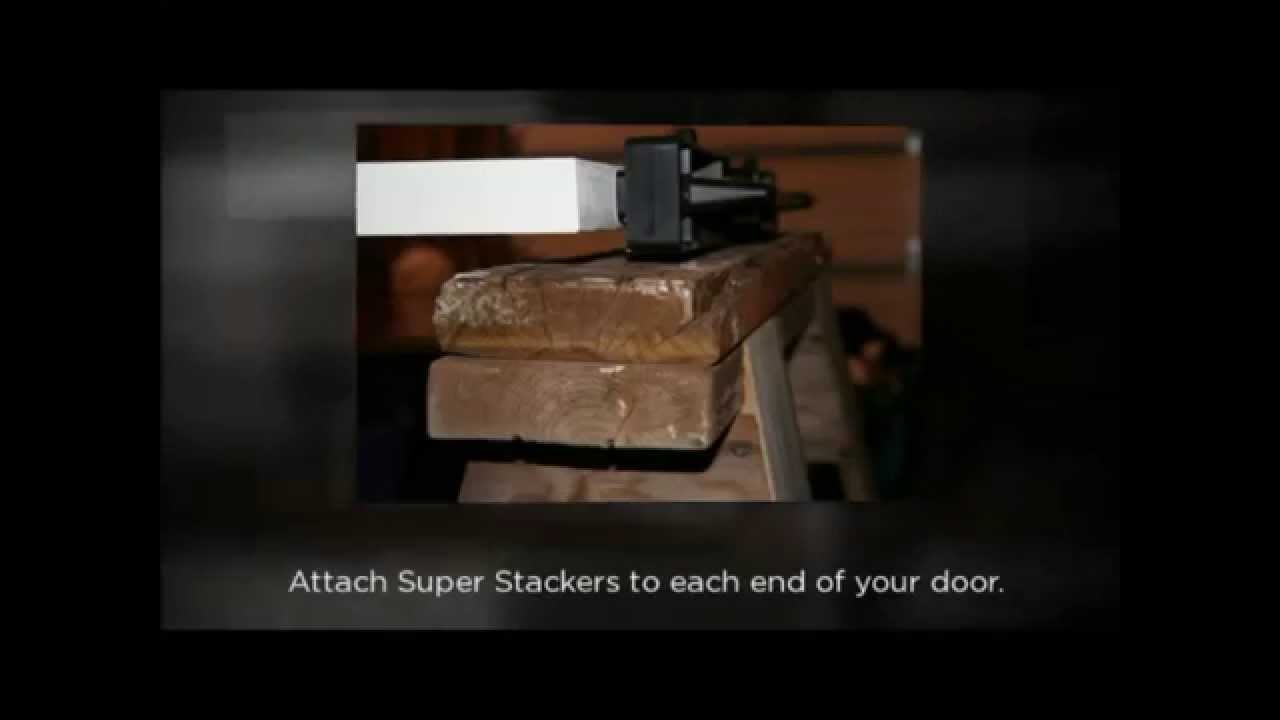 & The Super Stackers Door Finishing System - YouTube