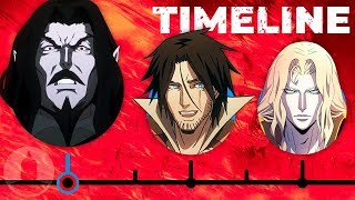 The Complete Castlevania Timeline...So Far | Channel Frederator