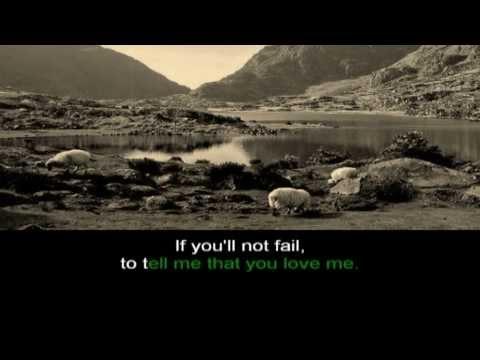 Danny Boy karaoke version with lyrics - Irish traditional -