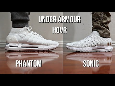 wholesale dealer abd6b 4dbde THESE UNDER ARMOUR SHOES ARE CHANGING THE GAME! HOVR PHANTOM ...