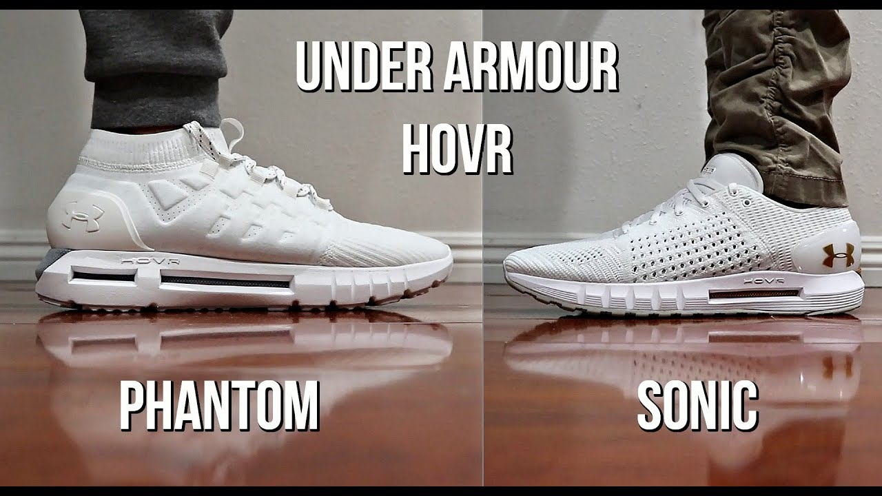 adidas ultra boost vs under armour hovr