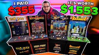 I Paid $355 for $1,553 Worth of Arcade1Up Returns! (Liquidation Pallet)