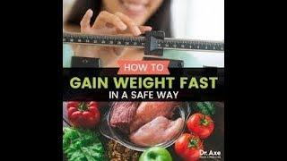 how to gain weight fast and quickly home remedies वजन तेजी से और जल्दी घरेलू उपचार कैसे प्राप्त करें