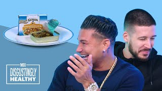 Pauly D & Vinny Try Bugs For The First Time | Disgustingly Healthy | Men's Health