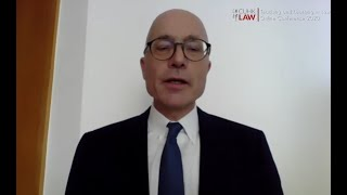 CUHK LAW Directions 2020 | Welcome Message by Dean Lutz-Christian Wolff