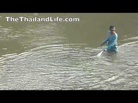 Fishing in Laos - Mekong River