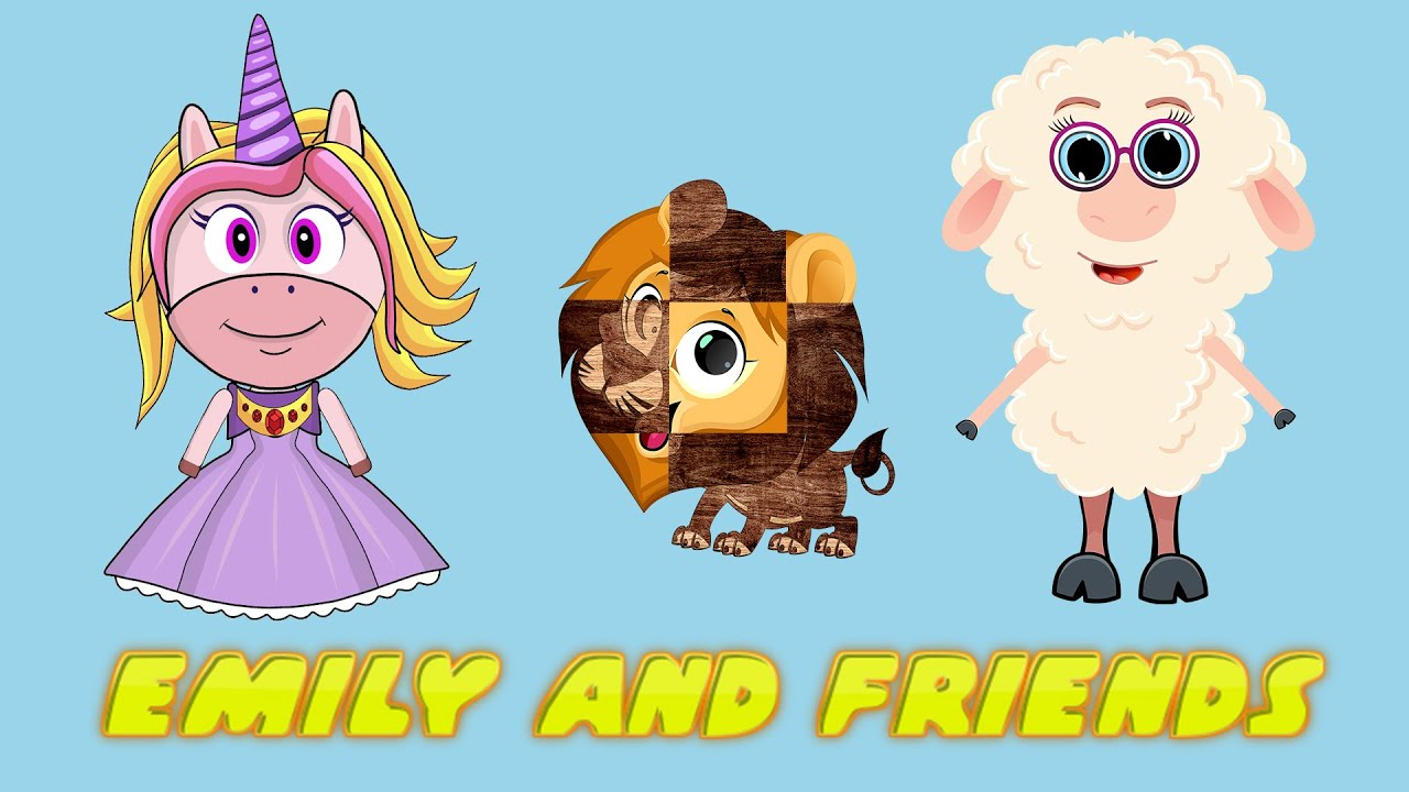 Emily and friends - Puzzles for kids vol 10 & more