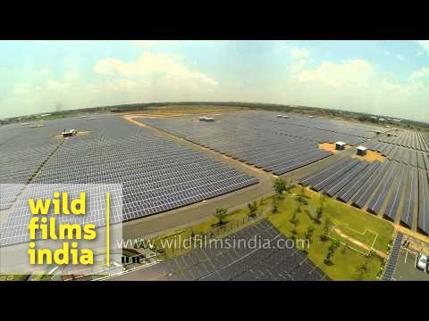 Massive solar installation at Thailand's Sunny Bangchak PV power plant