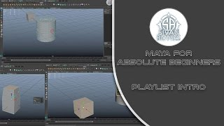 00 playlist intro maya for absolute beginners