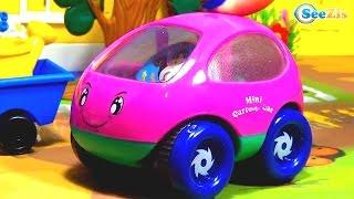 Грузовичок Томми и Малыши Машинки! Гоночная машинка едет в лес Мультики про Машинки