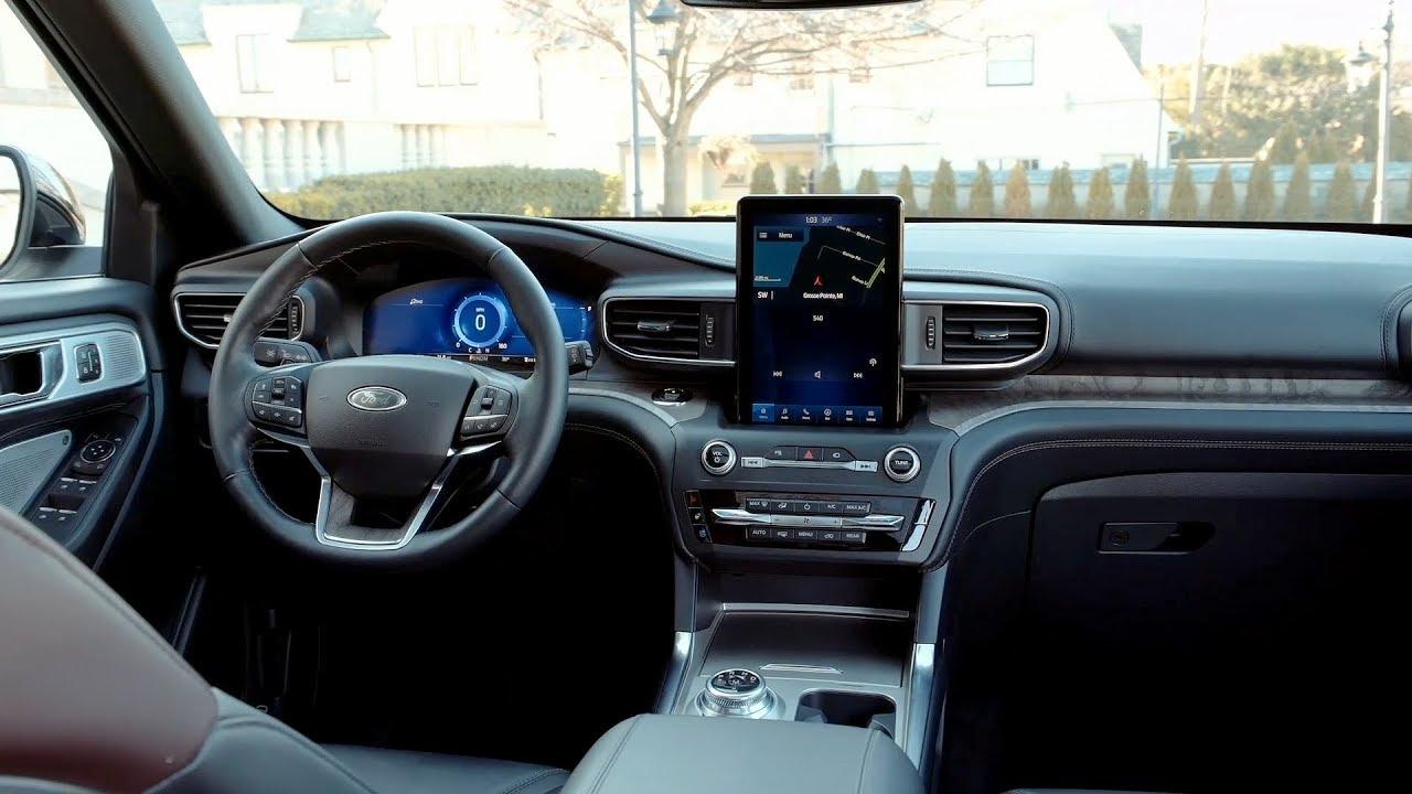 2020 Ford Explorer Interior Youtube