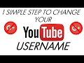 How to change your YOUTUBE username (NOT GOOGLE+) | 2017 FEB | Use symbols and Emojis in your name!