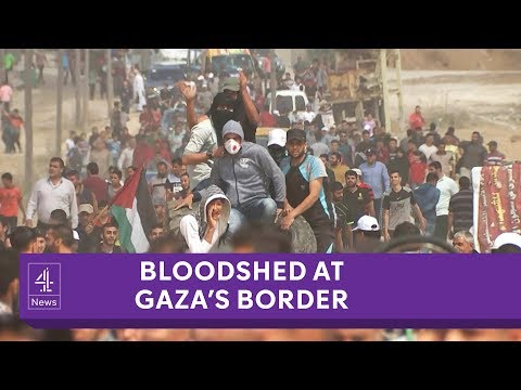 Bloodshed At Gaza's Border - Israeli Gunfire Leads To Dozens Dead