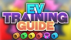 EV Training in Pokémon Sonne & Mond [Guide]