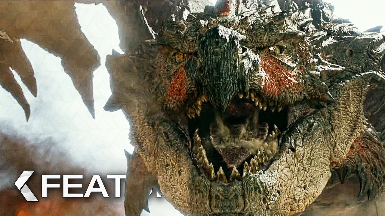 Rathalos Attack - Game vs. Movie Comparison - MONSTER HUNTER Featurette (2020)
