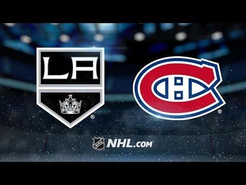 Los Angeles Kings Vs. Montreal Canadiens | NHL Game Recap | October 26, 2017 | HD