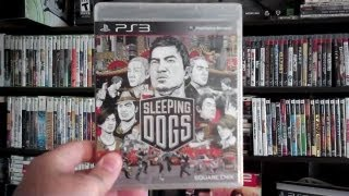 UNBOXING SLEEPING DOGS EARLY (REVIEW NOW UP)