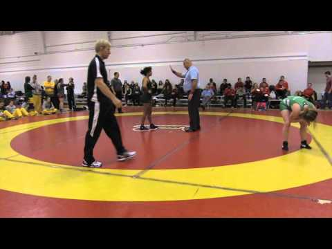 2015 Dino Invitational: 55 kg Laryssa Barry vs. Sena Debia