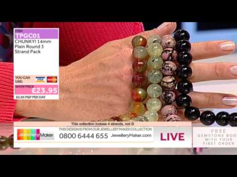 'Make Beaded Jewellery' - JewelleryMaker LIVE 29/7/14