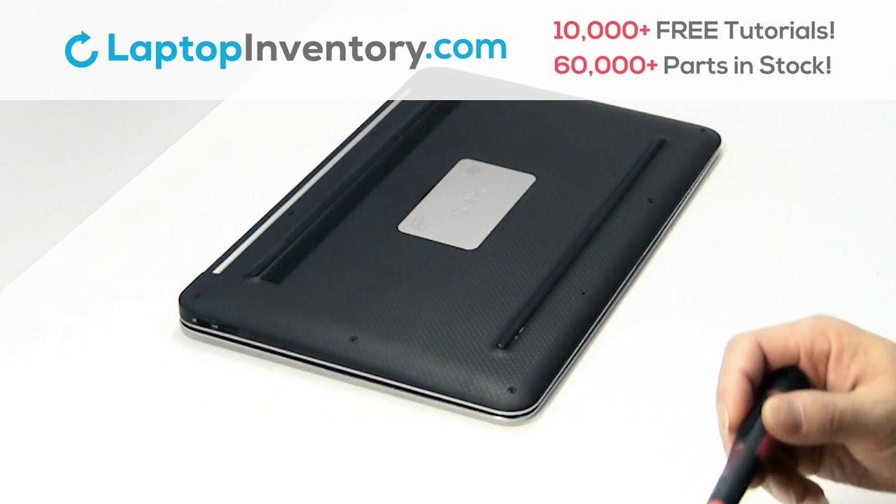 Dell XPS 13-L321X Battery Installation Replacement Guide - Remove Replace  Install Laptop 13D 12-9333