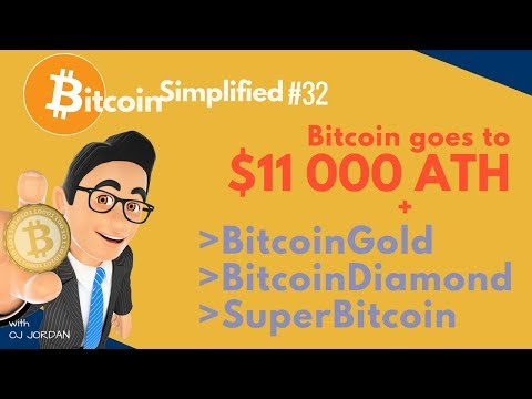 Bitcoin $11K + Diamond Fork and more | Bitcoin Simplified #32