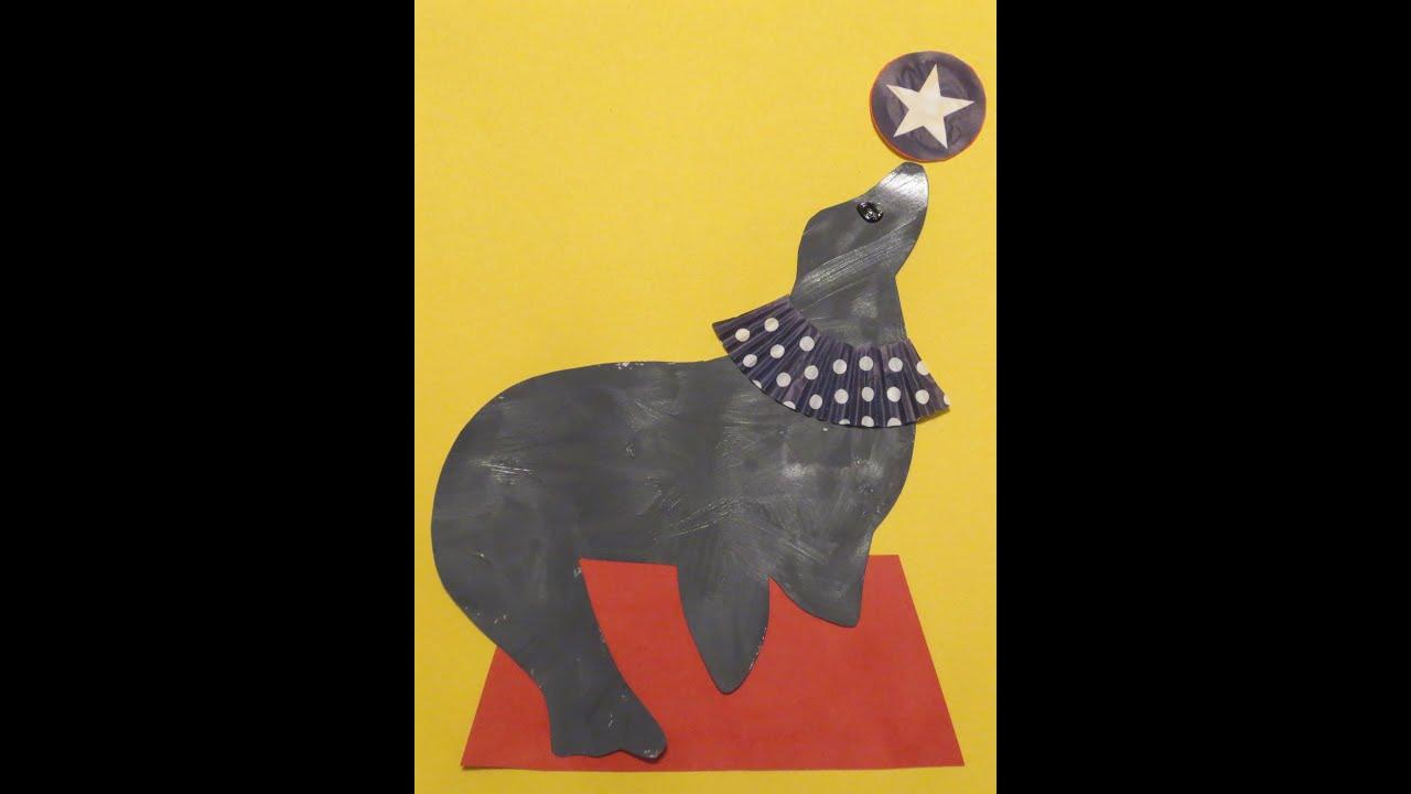 circus seal for preschool zoo theme youtube