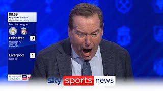 Soccer Saturday: Leicester 3-1 Liverpool - Goal reaction as it happened