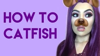 Makeup look using a synthetic lace front wig | bhairextension.com