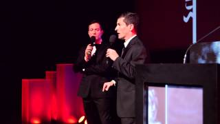 Final Draft Awards - Thomas Lennon & Robert Ben Garant introduce Best Adapted Screenplay