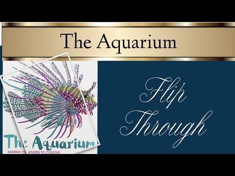 The Aquarium Colouring Book Flipthrough