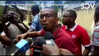 Angry youths pelt Aisha Jumwa and 'Moha Jicho Pevu' with stones disrupting their press conference