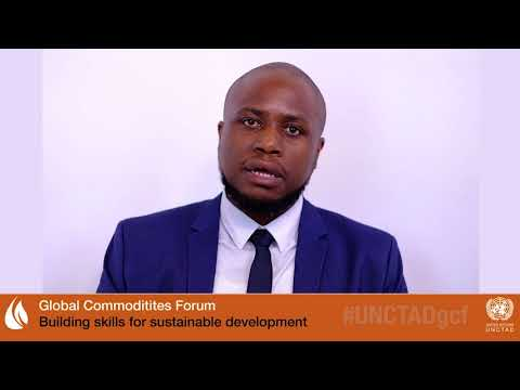 Beyani Munthali at UNCTAD's Global Commodities Forum 2018