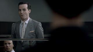 Шерлок умничает в суде. Особая связь с Мориарти. Шерлок. 2012