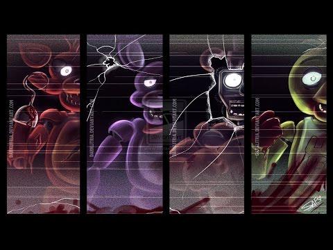 видео: Все скримеры  Five Nights at Freddy's  1, 2, 3, 4