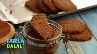 Chocolate Cookies By Tarla Dalal