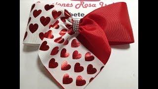Aprenda a fazer um lindo laço Coração