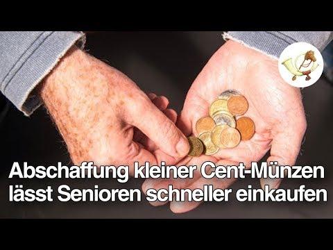 Abschaffung kleiner Cent-Münzen lässt Senioren 40% schneller einkaufen [Postillon24]