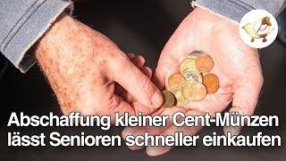 Abschaffung kleiner Cent-Münzen lässt Senioren 40% schneller einkaufen