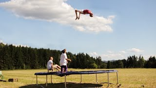 Trampoline Edit - Summer 2012 | 1260, doubles landed, triple attempts