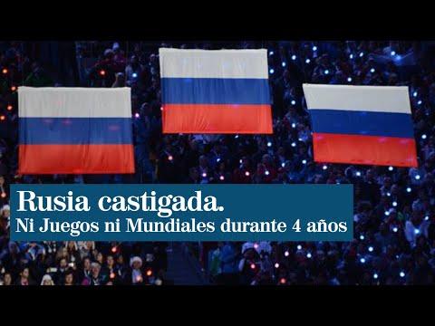 Rusia recibe la mayor sanción de la historia del deporte