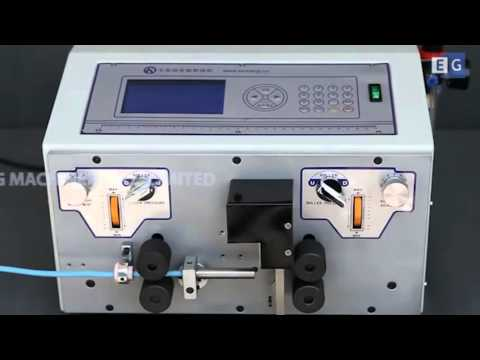 видео: Автоматическая машина для нарезки и зачистки толстых проводов ks-09k