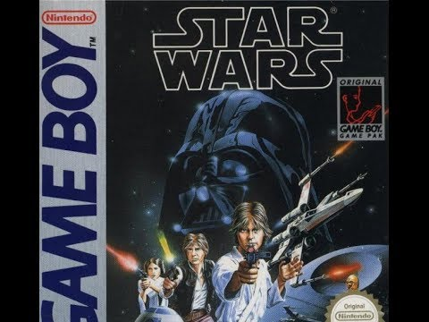 game boy star wars artwork from 1991
