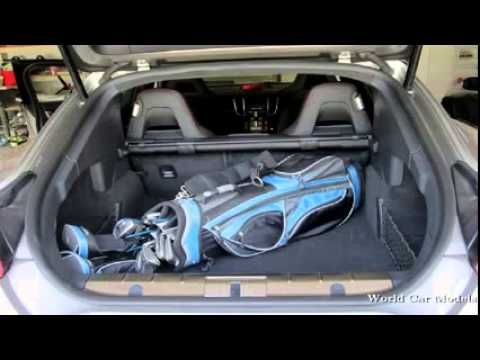 porsche panamera interior trunk youtube. Black Bedroom Furniture Sets. Home Design Ideas