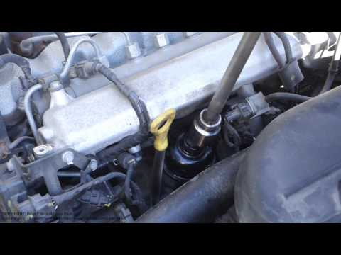 How to replace oil filter Hyundai and Kia diesel engine years 2008 to 2015