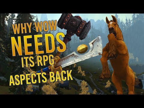 Why World Of Warcraft NEEDS Its RPG Aspects Back