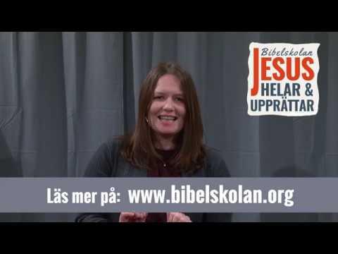 Mettes vittnesbörd från Arkens bibelskola Jesus Helar och Upprättar